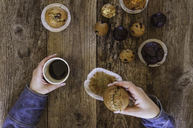 Muffins sin gluten y sin lácteos de Milola