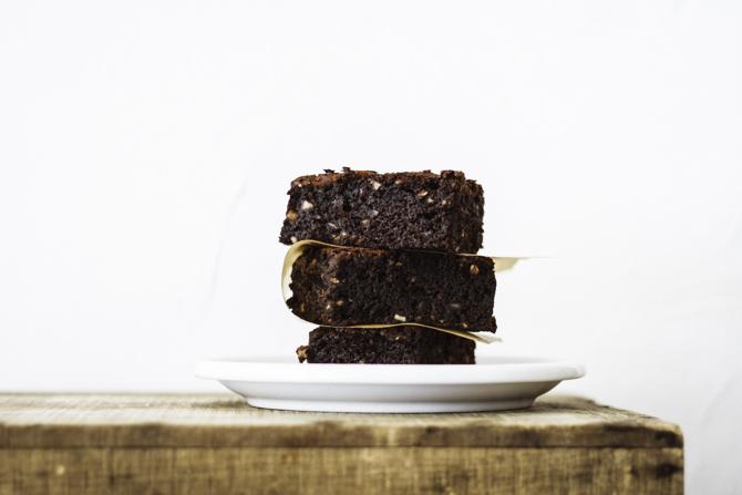 Brownie de chocolate sin gluten de Milola