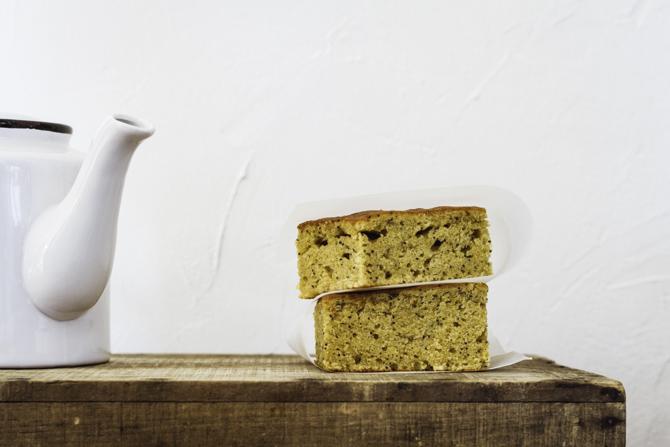 Blondie de Limón y semillas de amapola sin gluten de Milola