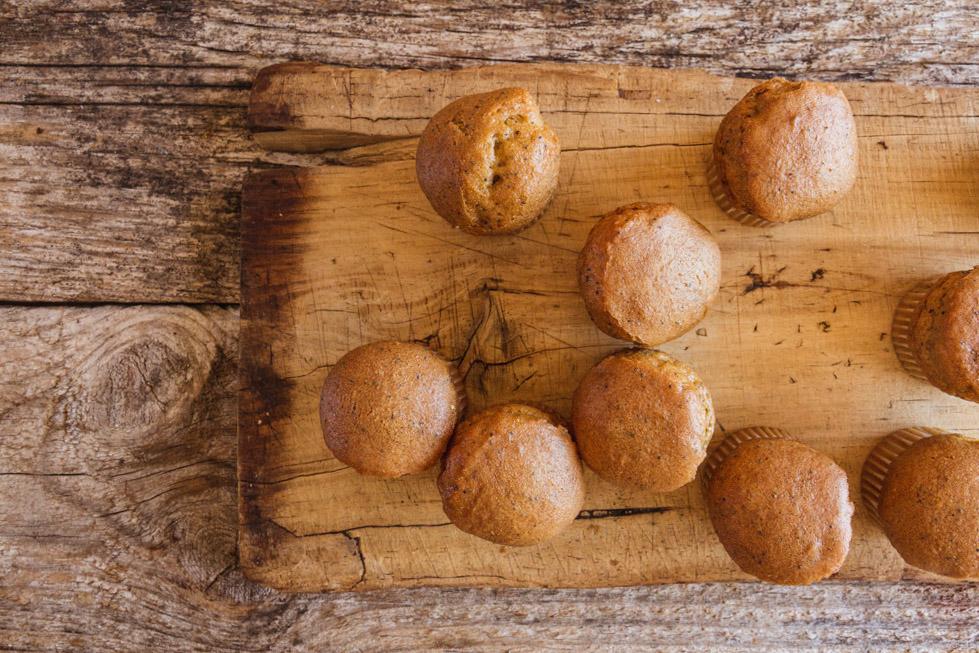 Muffin de zanahoria especiada sin gluten de Milola