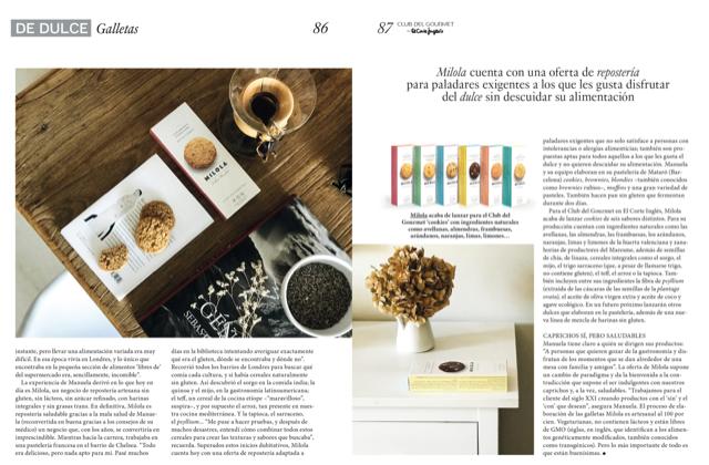 Magazine Club Gourmet del Corte Inglés
