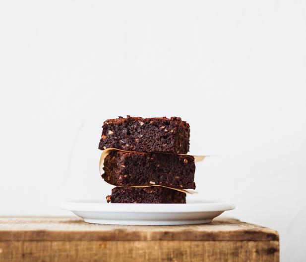 gluten-free chocolate brownie milola
