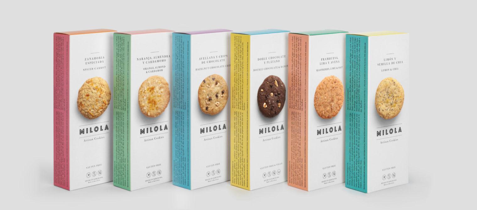Gluten-free Cookies from Milola distribution