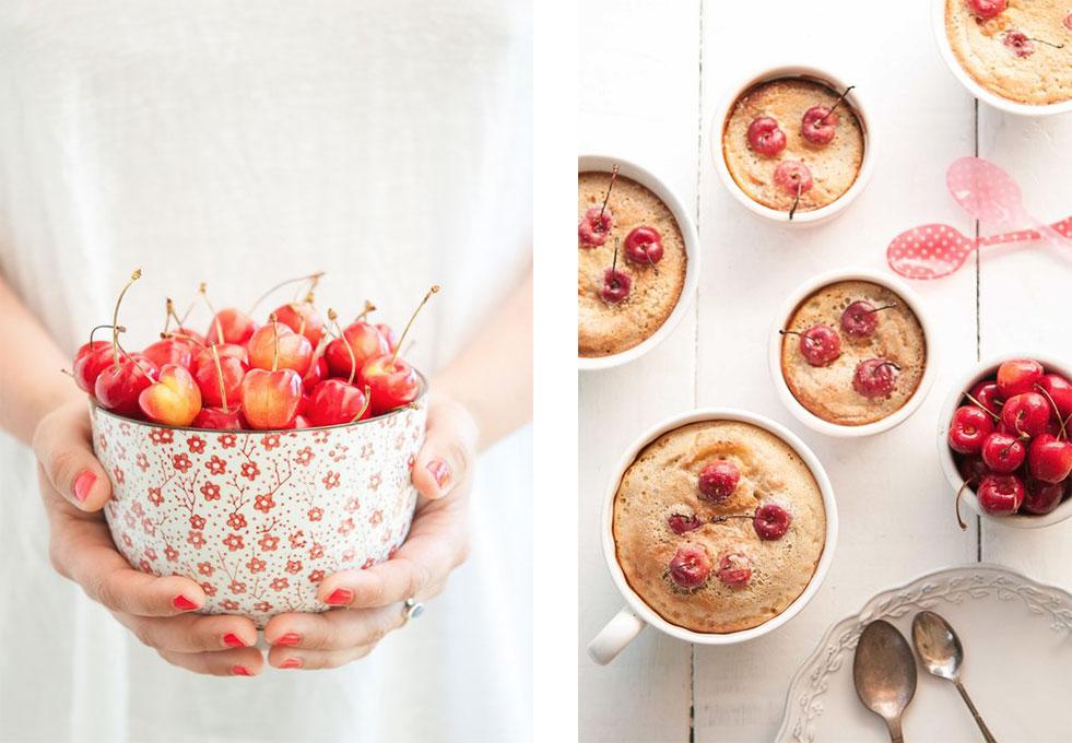 recipe for gluten-free, dairy-free cherry clafoutis