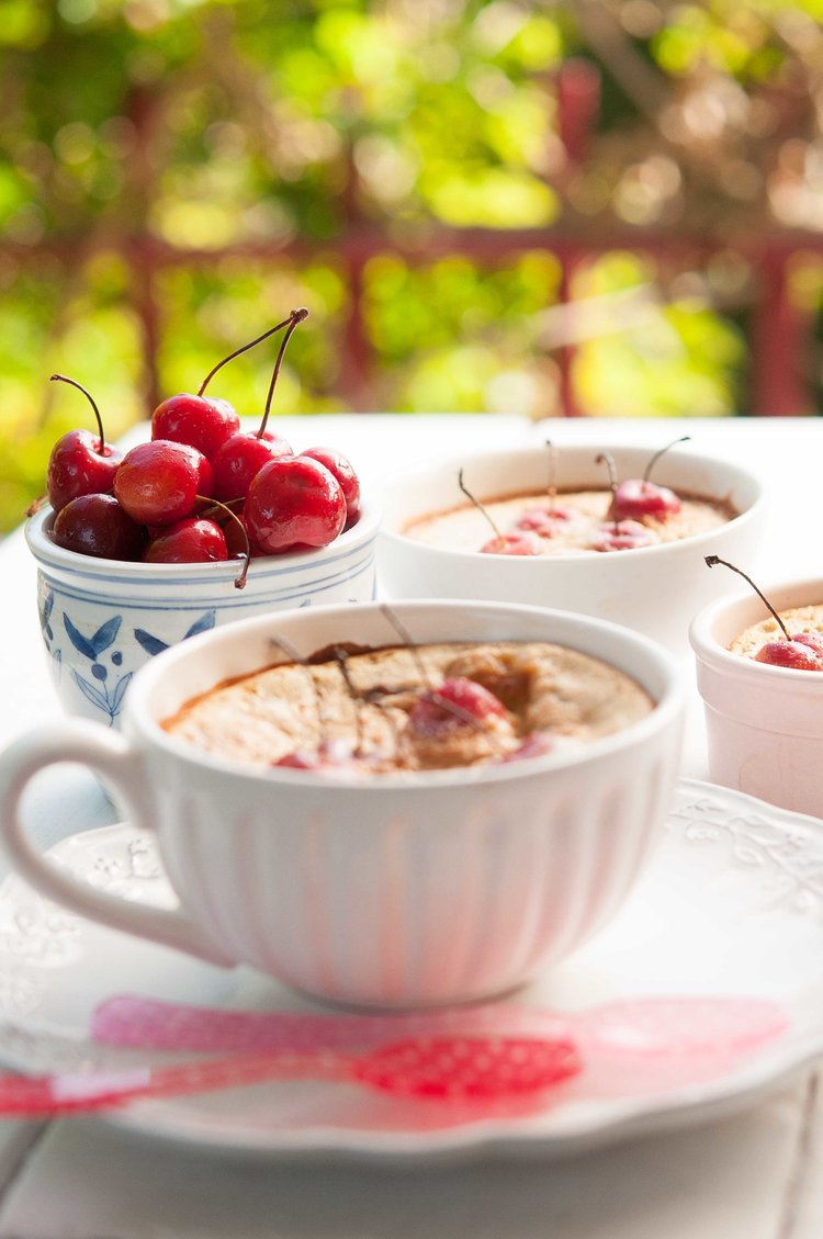 cherries, recipe, gluten-free, milola