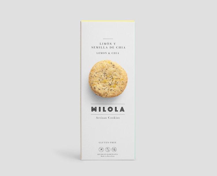 Galeta de llimona i chia sense gluten de Milola