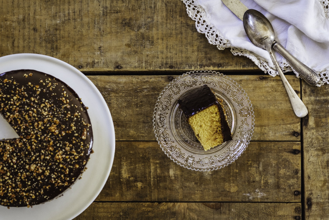 Gluten and dairy free orange almond cake by Claudia Roden