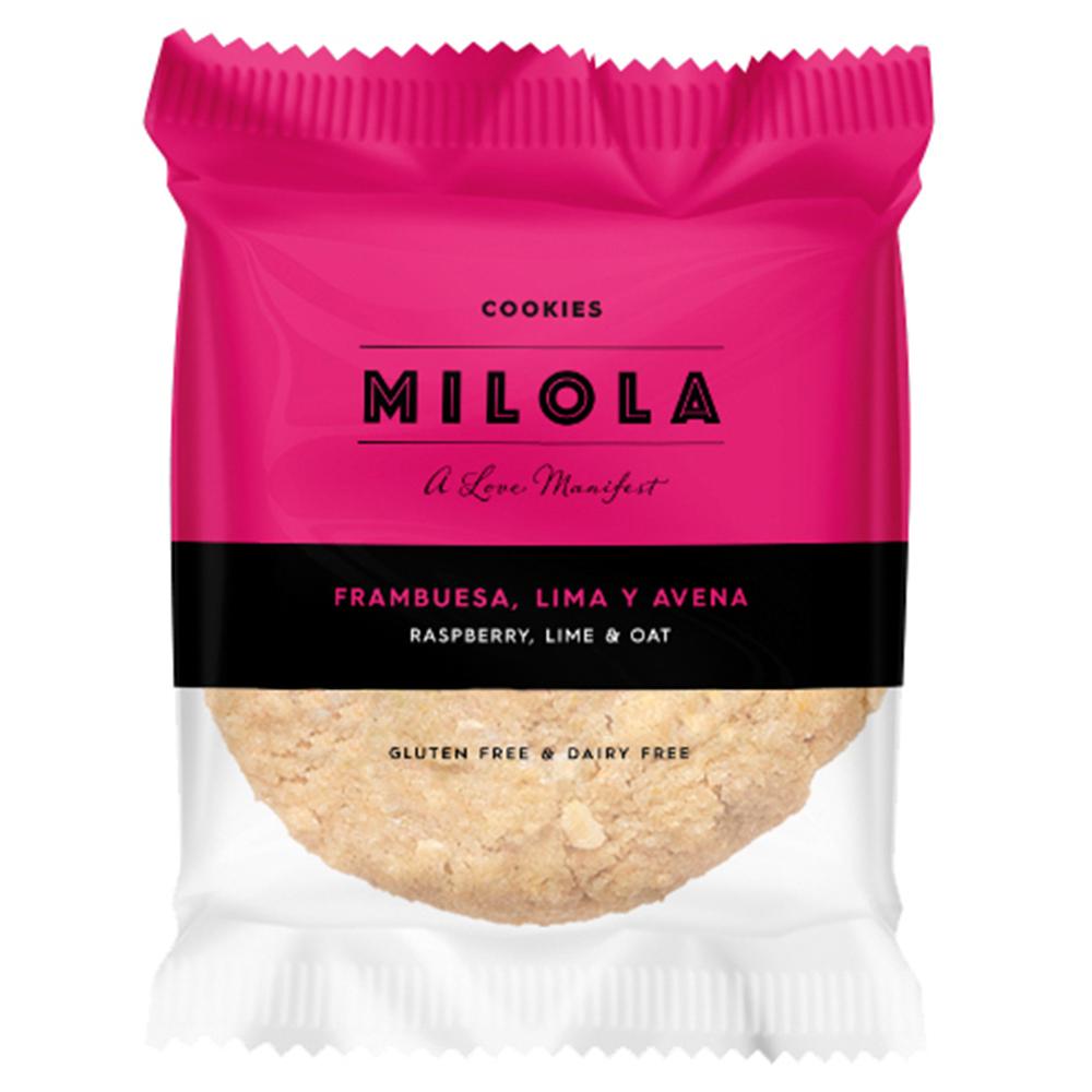 cookie sense gluten de civada, gerds i llima de Milola
