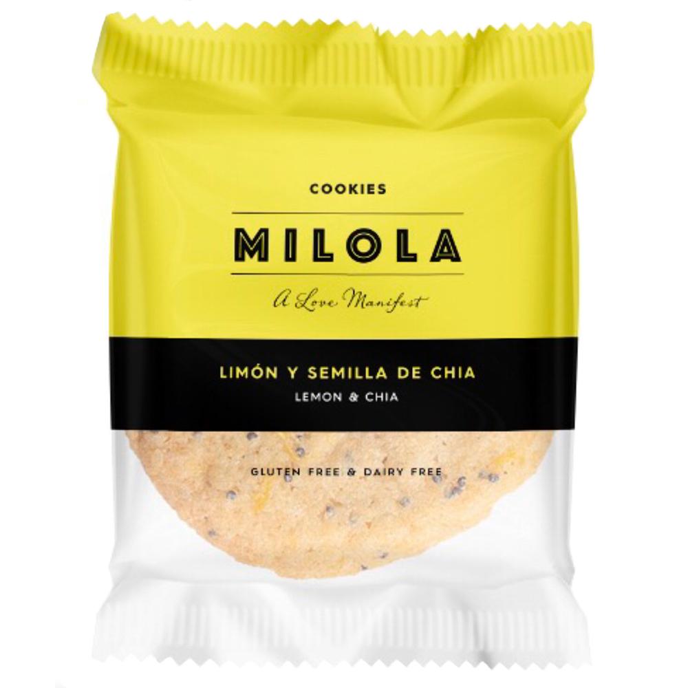 cookie sense gluten de llimona i xia de Milola