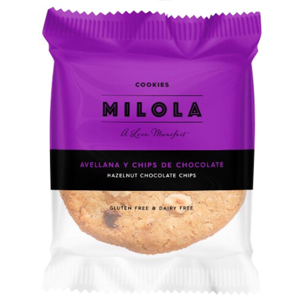 cookie sense gluten de xocolata i avellanes de Milola