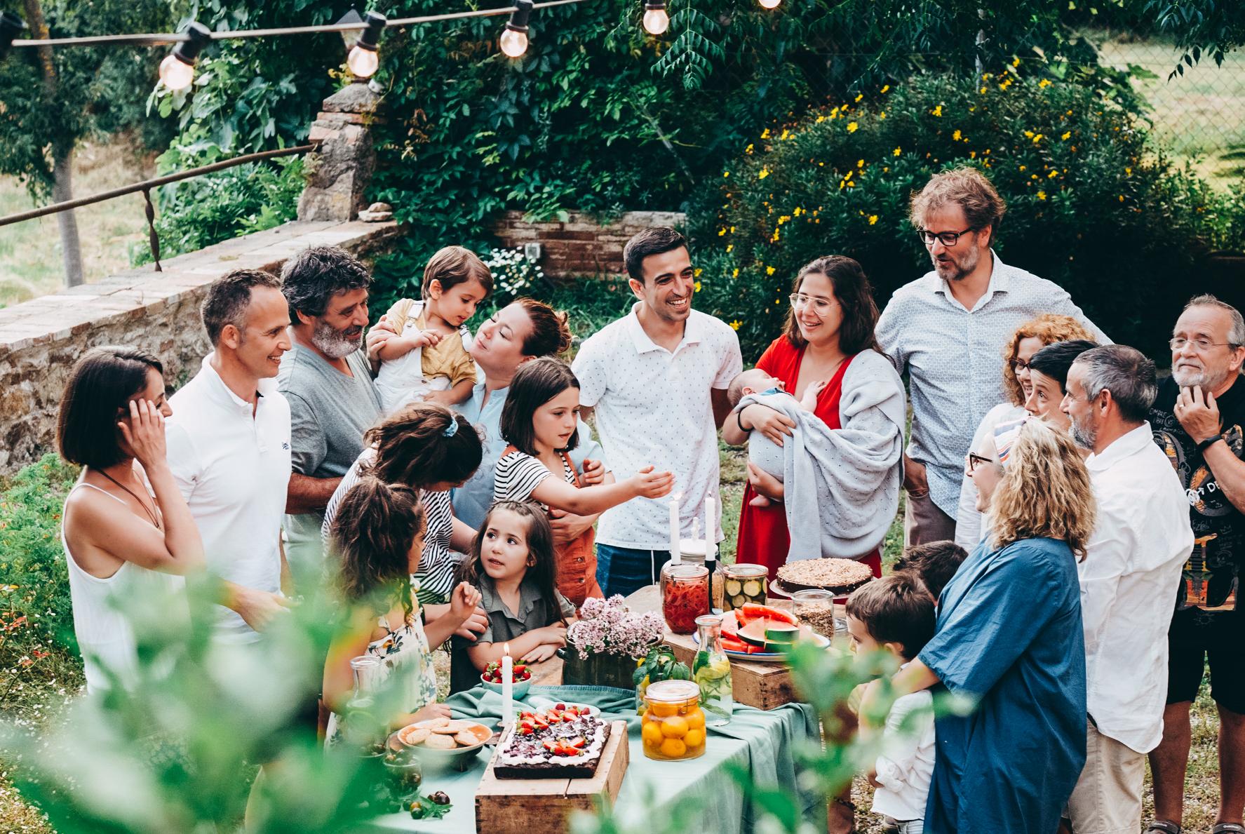 La familia Milola sin gluten