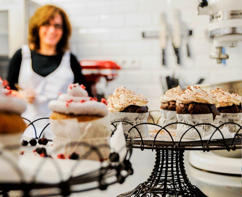 Milola's beginnings: a very singular coffee shop in Mataró.